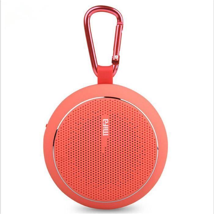 #bonplan Mini Enceinte Sans Fil Haut Parleur Bleutooth FM Radio Haut Parleurs FXG-SM033Rose 32,99€