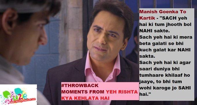 #Throwback moments from #YehRishtaKyaKehlataHai. #MohsinKhan #ShivangiJoshi #Kaira #Kartik #Naira.