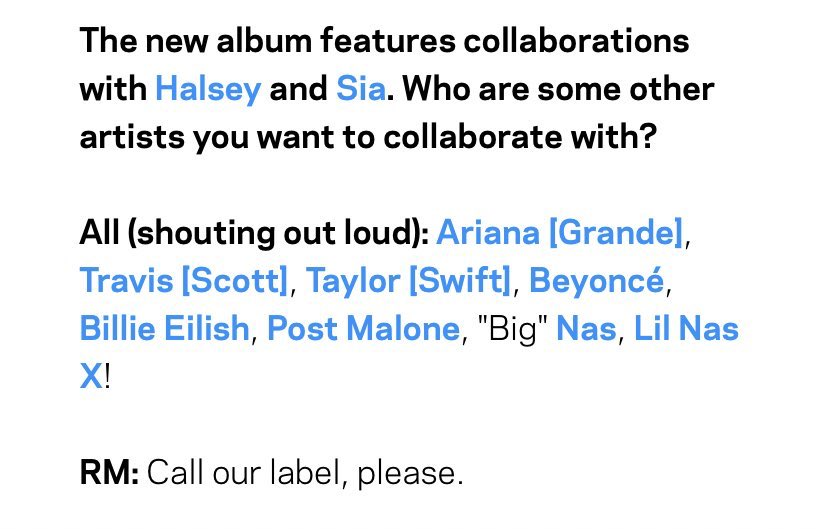 STOP ASKING COLLAB QUESTIONS.