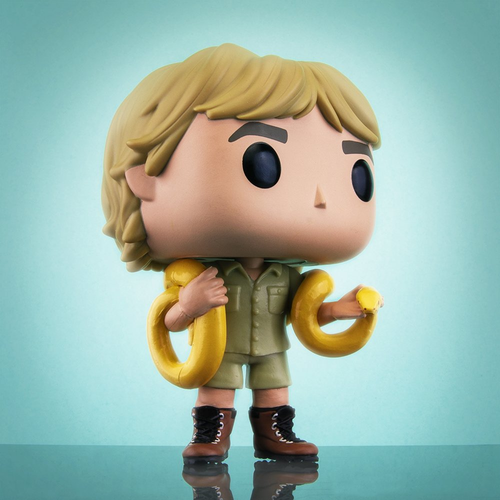 Happy Birthday 🎈  to The Crocodile Hunter, Steve Irwin! You are greatly missed.   #Funko #FunkoPop #HBD #SteveIrwin #TheCrocodileHunter