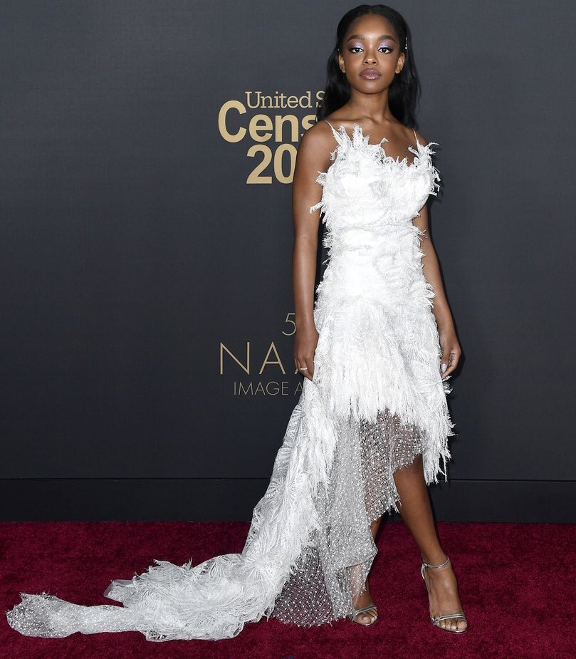 QUEEN! Marsai Martin at the 2020 #NAACPImageAwards 💕