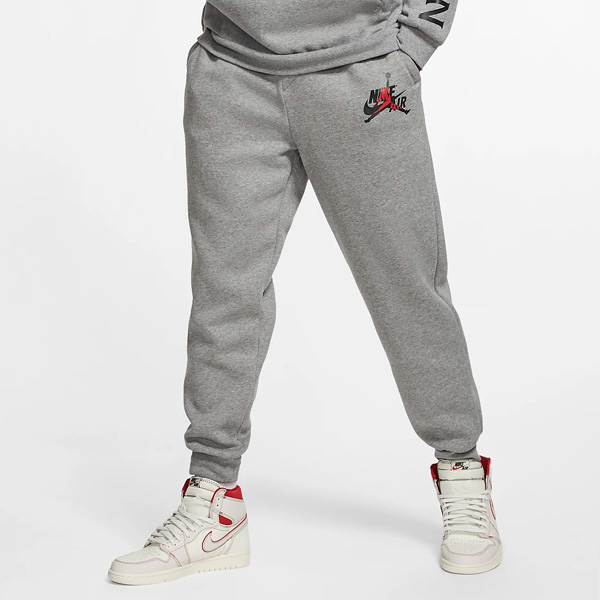 40% OFF! 'Carbon Heather' Jordan Jumpman Classics Fleece Pants are on sale for $44.97 + get FREE shipping with your Nike+ account. #promotion  BUY HERE ->