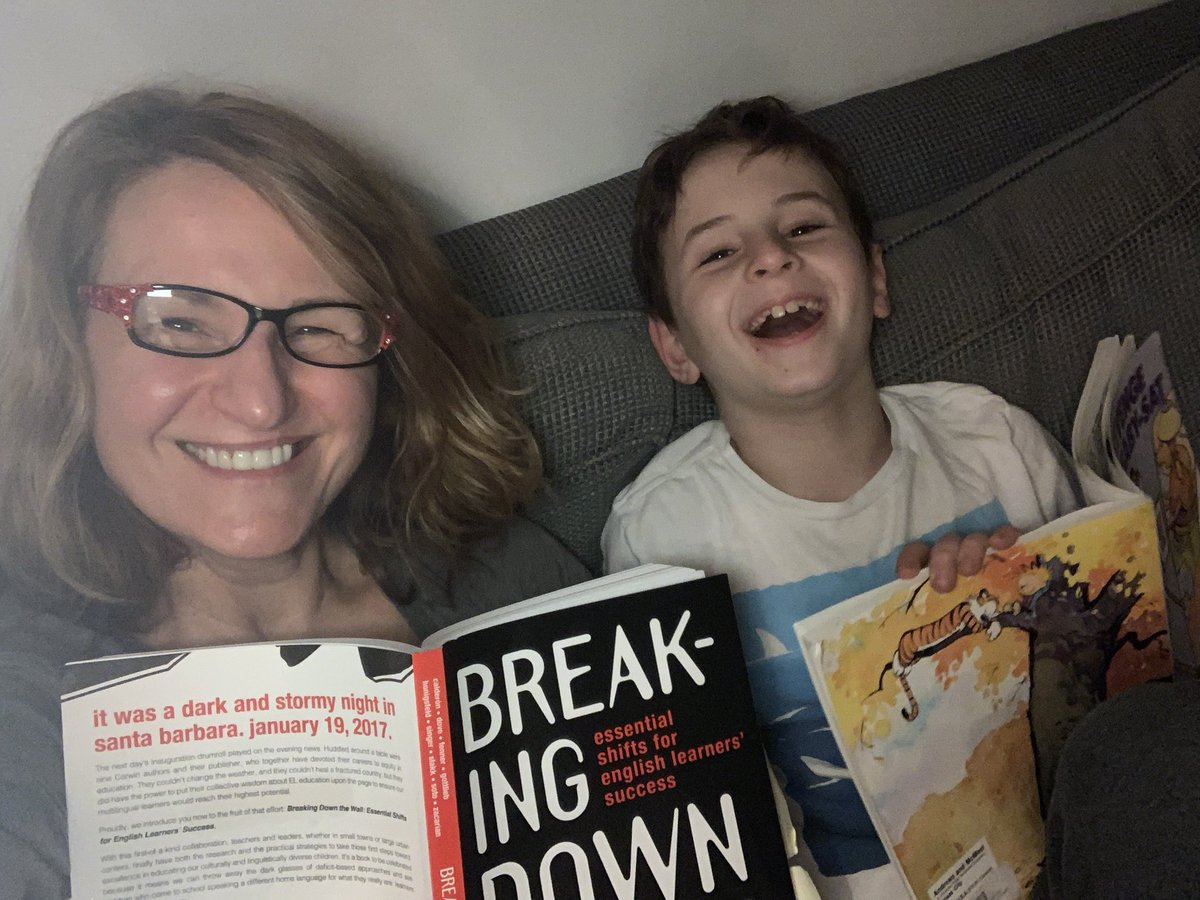 test Twitter Media - Reading time—@Calvinn_Hobbes and Noah and #breakingdownthewall prep  time for me for a bookclub discussion on Monday with @lvcsd leadership team @MariaGDove will be a special guest @AmyWatsonLVCSD @KimiFerina —chapters 4-5 are up @drivannia @TonyaWardSinger @CorwinPress https://t.co/3We0Mh3uNm