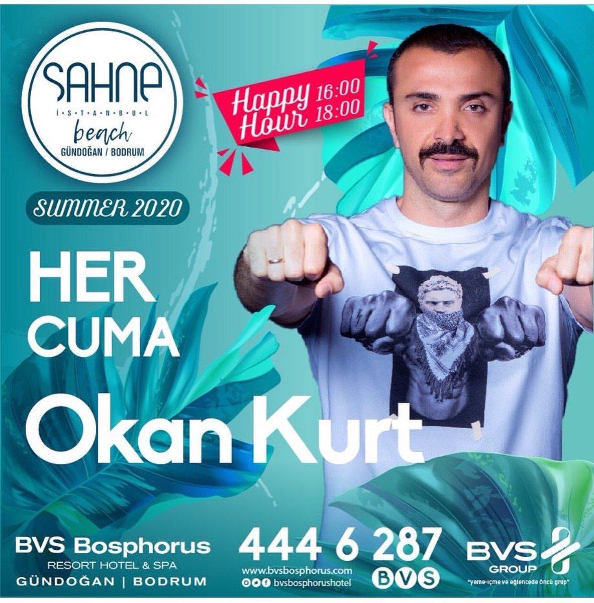 Bu Yaz 🔥 Sahne İstanbul Beach Gündoğan Bodrum'da  ➡️ Her Cuma Okan Kurt ➡️ Her Cumartesi Demet Akalın  Sahnede 🌟 Hazır mısınız? 💃🏻💗 @DemetAkalin #OkanKurt https://t.co/5boRVbpD2E