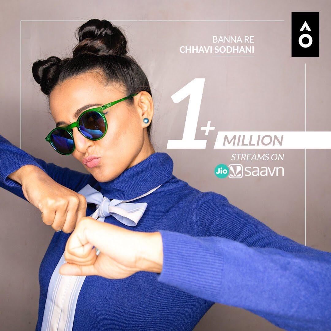 One week and over one million streams! 💙 #BannaRe  @chhavisodhani
