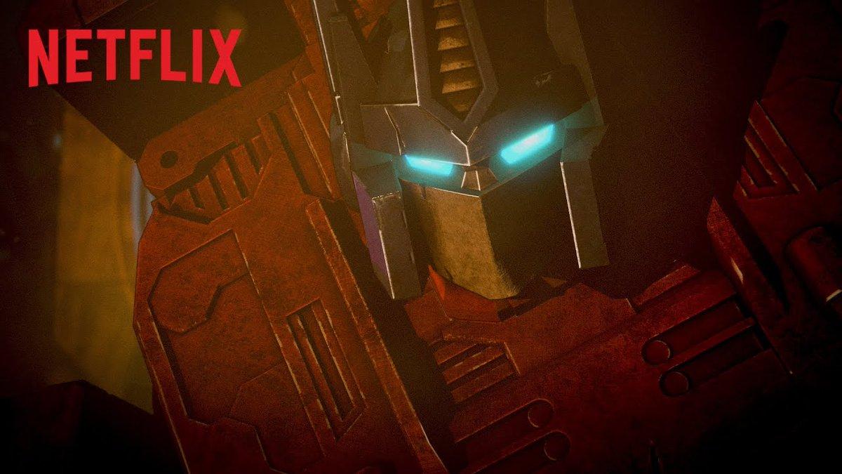 Une première bande annonce pour la série animée #Transformers : War For Cybertron Trilogy qui sera disponible cette année sur @NetflixFR !