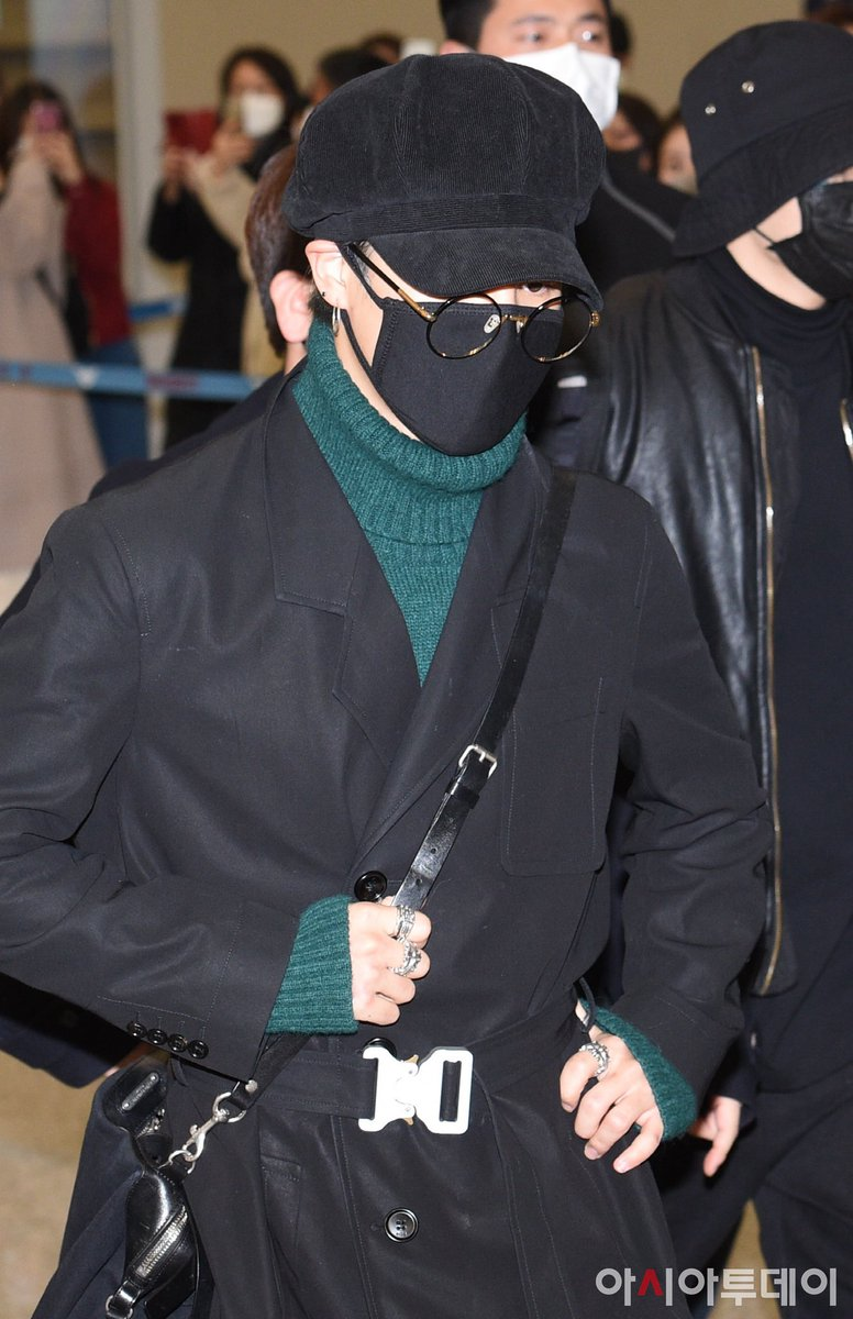 ✈️ 200223   #BTS#JIMIN arrived at Incheon Airport from JFK Airport 🥺  (Please wear your masks and stay safe, stay indoor 😢)
