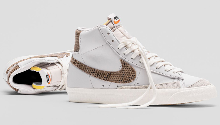 Good sizes for the vast grey/metallic red bronze Nike Blazer Mid '77 VNTG are $80 for a limited time + FREE shipping!  BUY HERE ->  (promotion - use code DEAL20 at checkout)  💥 FLX members get FREE shipping - free to join: