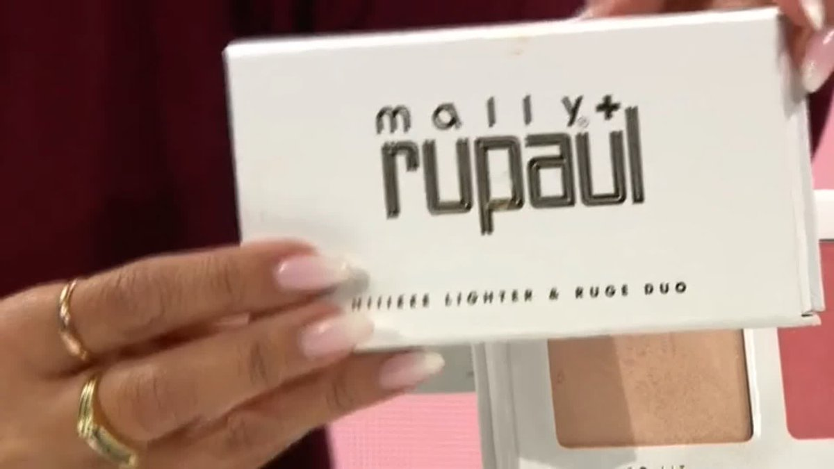 Have you had a chance to try out the @mallybeauty x @RuPaul collection yet? Check out the Hiieee-Lighter and Ruge Duo and get it while the stocks last!  >