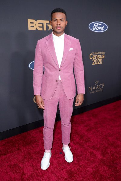Trevor Jackson at the 2020 #NAACPImageAwards 🤍
