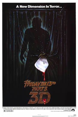RT @HReview73: Friday the 13th Part III or Friday...