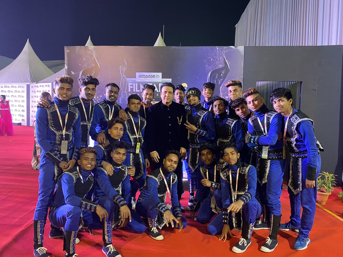 govinda_hero sir you are the real hero no.1 and it was pleasure to meet you sir, your movies are evergreen we love to watch them as much as many times your dancing moves thought us how to express dance on floor love you sir.choreographer and director omchauhan7825 @DeshVegas