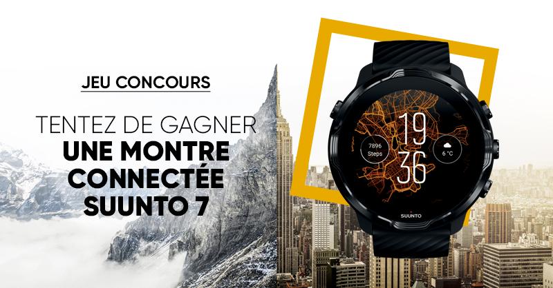 JEU CONCOURS 🎁 | Tentez de remporter une montre connectée #Suunto 7 😍 ➡ Pour participer: RT + Follow @Fnac  > Bonne chance 😎 ! >>