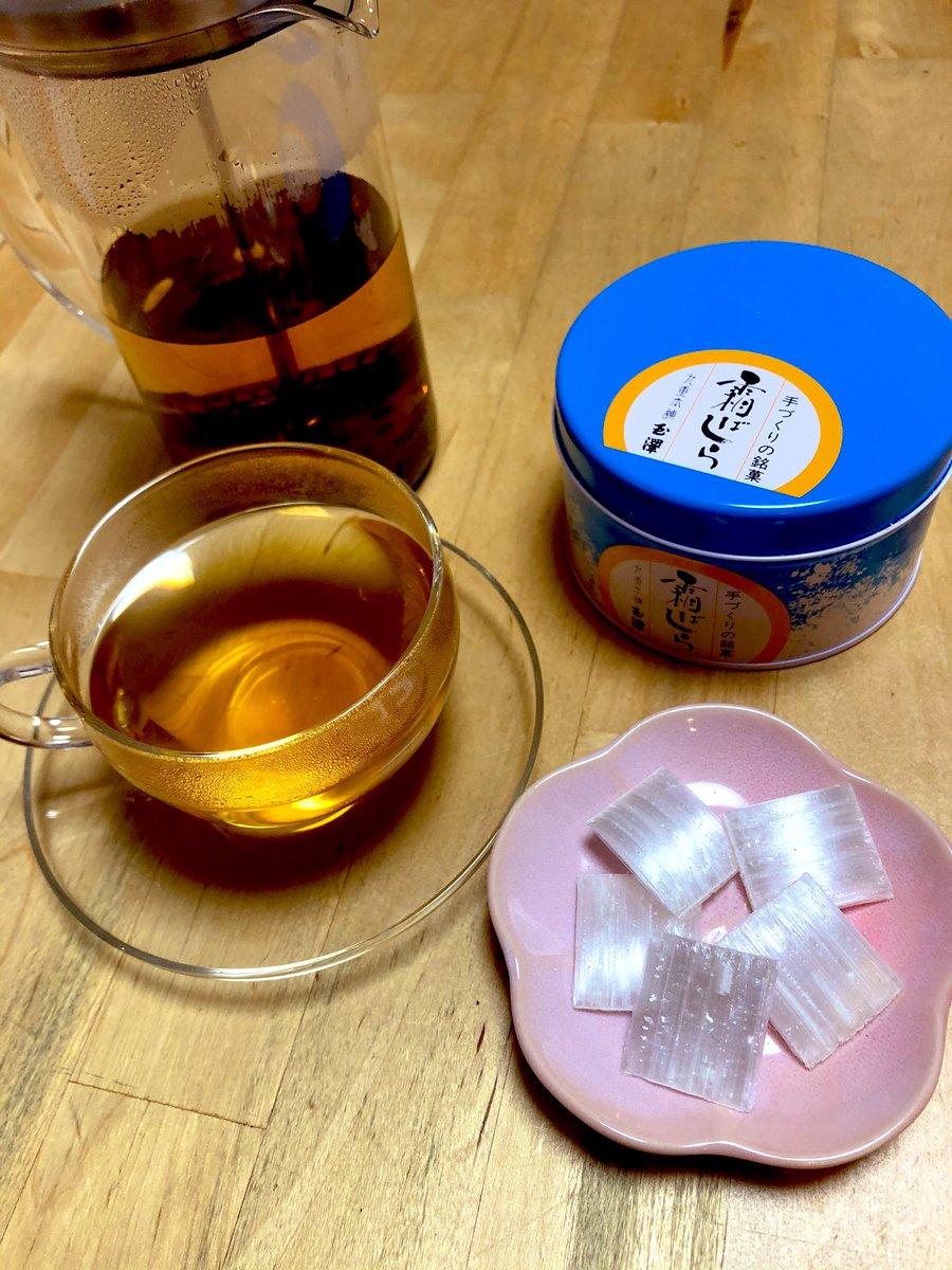 test ツイッターメディア - 今日の霜ばしらタイムはルピシアだよりに付いてきたダージリンザファーストフラッシュ。シンプルに茶の香りが広がるね。 桜の形の小皿で。 https://t.co/3gTNC9ecO5