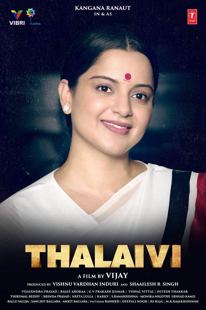 On #Thalaivi 's birth anniversary, here's another glimpse of #KanganaRanaut as young politician  #jayalalithaa in her thirties. #ThalaiviBirthAnniversary  @KanganaTeam @thearvindswami #Vijay @ShaaileshRSingh @BrindaPrasad1 @rajatsaroraa @gvprakash  @vibri_media @KarmaMediaEnt
