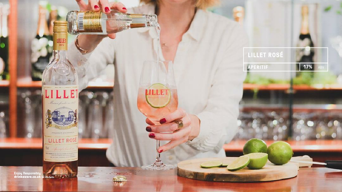 Lillet Rosé is an aperitif with a delicious freshness and great aromatic finesse. Fresh, lively and fruity with a balanced structure and slightly acidic. #aperitif #highball  Read more here https://t.co/Ow3moNrOub https://t.co/HcxyAJvwNH