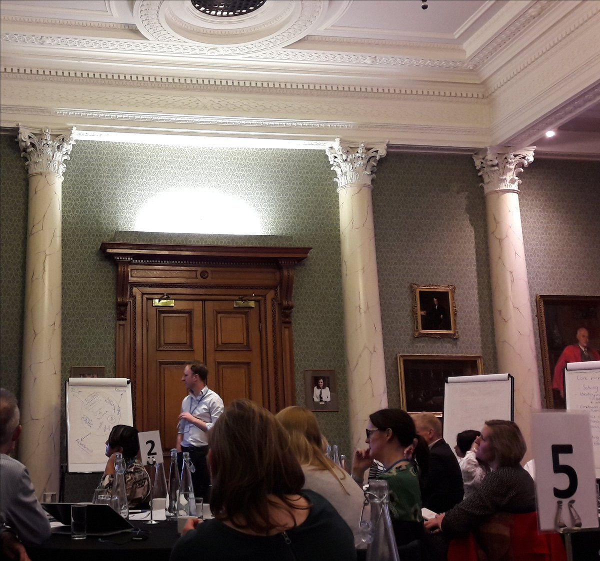 Excited to be part of the STEM Education Symposium right here in Burlington House @RoySocChem #PISAscience2024
