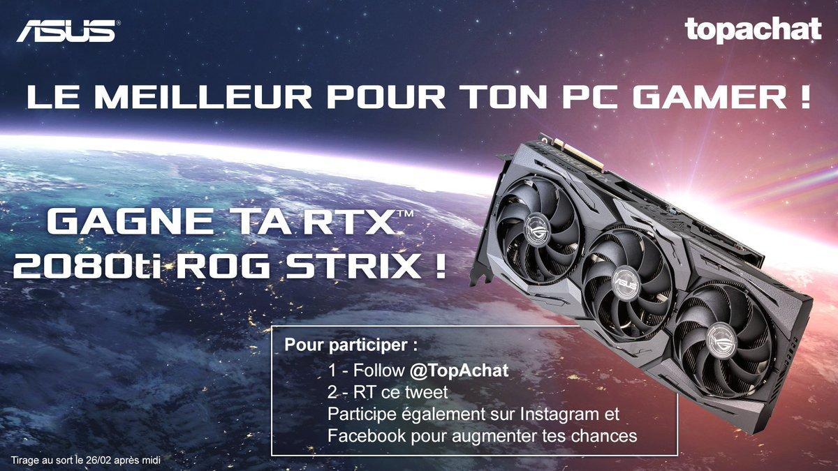 🎁 #Concours  La belle RTX 2080 Ti à gagner ! 😍  C'est ici qu'il faut #RT ! ⬇