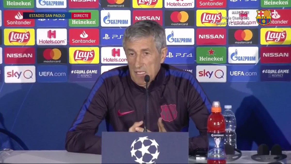 RT @FCBarcelona: 🔵🔴🗣 @QSetien on other players being compared with Leo #Messi ... https://t.co/2PIfhDqgx1