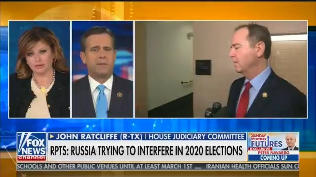 I don't know anyone in the last three years who has done more to help Vladimir Putin and Russia with their efforts to sow the seeds of discord in American elections and American election security than Adam Schiff.