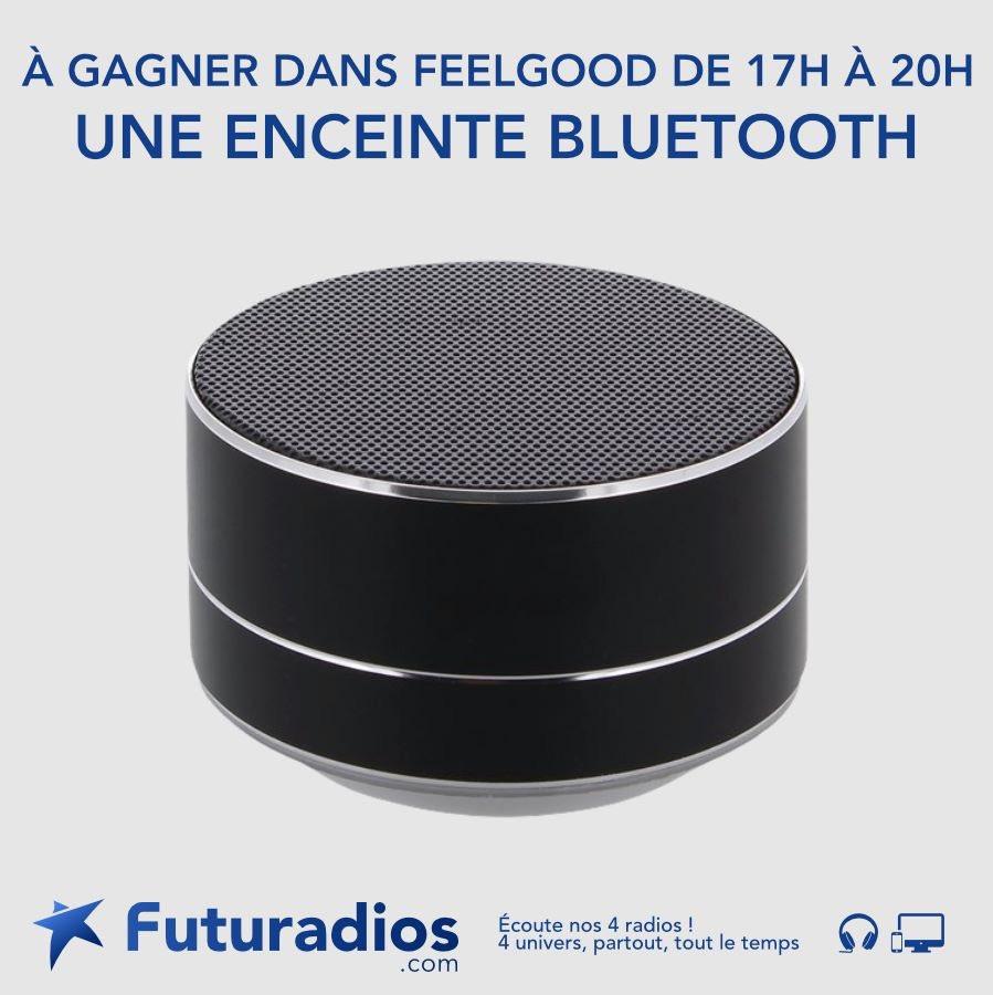 🎁 #Concours  Cette semaine tentez de gagner une enceinte Bluetooth 🎵   RT + Follow @futuradios   Tirage au sort le 28 Février 🍀