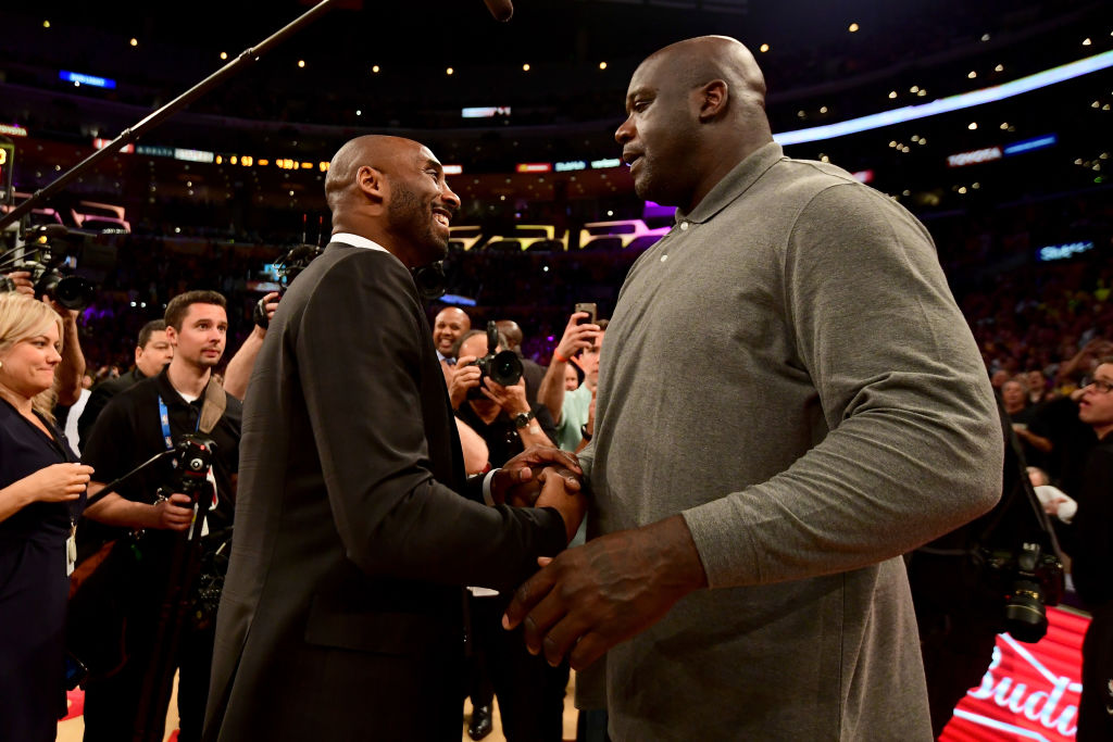 Watch Shaquille O'Neal speak on Kobe Bryant's legacy during memorial service