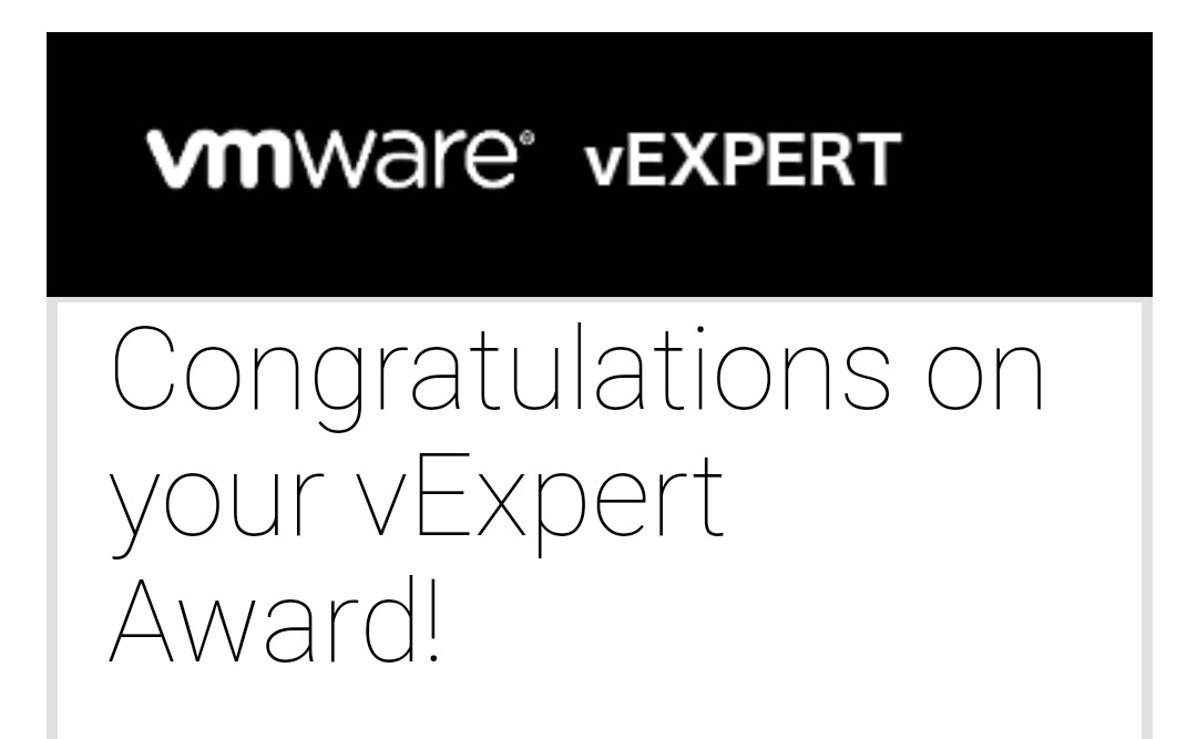test Twitter Media - Great to be back. Very pleased and honoured to be back on the program. Thank you to all involved @vCommunityGuy @vExpert #vExpert https://t.co/R0B2mcBvTP