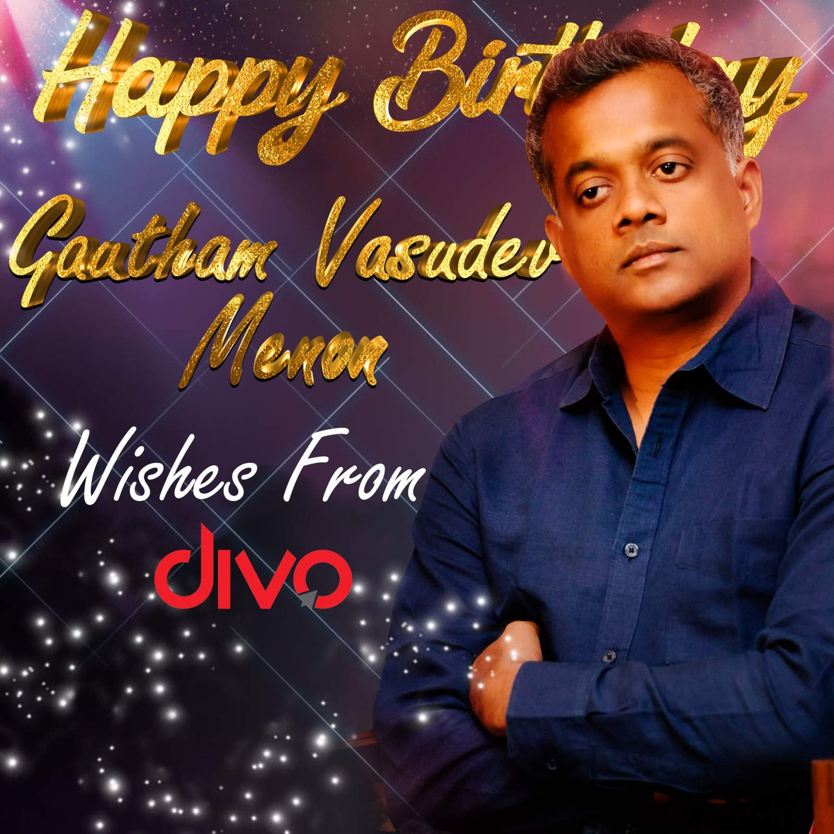 The Man who has taken us to the Unseen Passion of Love through his movies! Wishing the Impeccable @menongautham a very Happy Birthday🥳  Presenting a Soulful Compilation - With Love! GVM❤️ ▶   Stream it on👇 🎶   #HappyBirthdayGVM