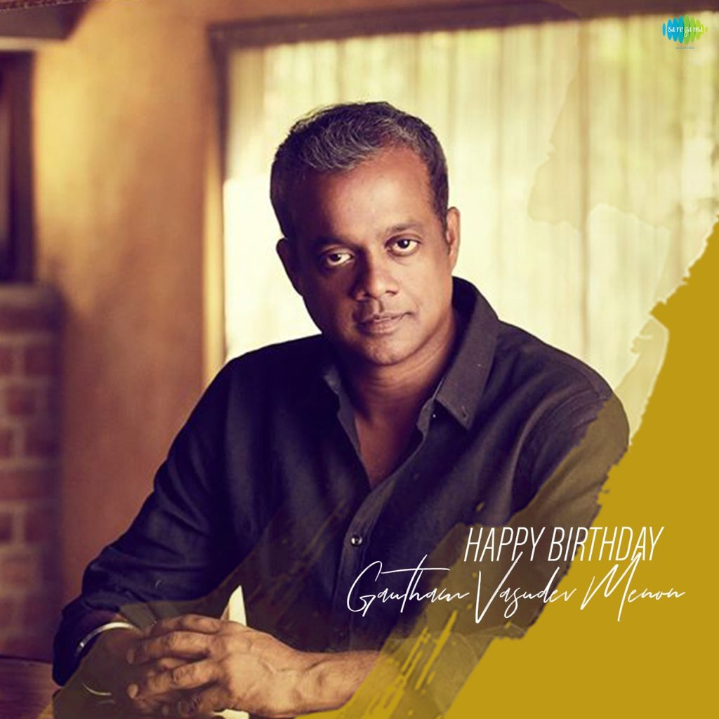 Hearty Birthday Wishes to the @menongautham   One of the epic director & Best Story Teller through Voice-Over in our Kollywood !!  #HBDGauthamVasudevMenon