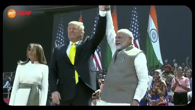 Moments from Ahmedabad that we will all cherish.  India is honoured to host @POTUS @realDonaldTrump. https://t.co/k3ElUUUXR0