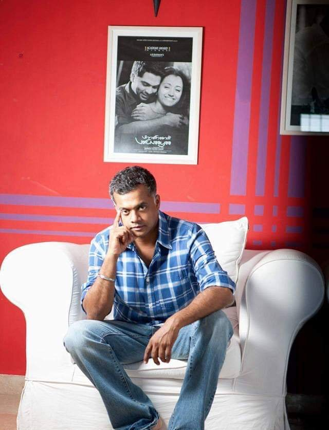 Wishing you a many many happy birthday to the king of divine , poetic love film maker in the film industry @menongautham ❤️❤️ #HBDGauthamVasudevMenon #HBDGVM