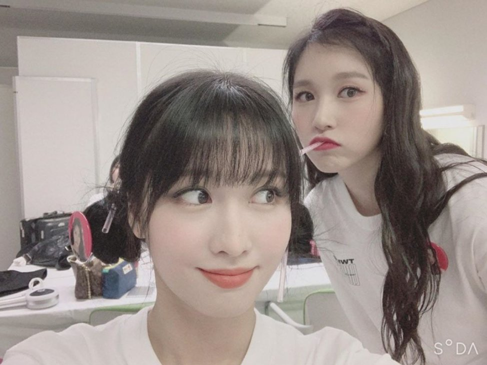 It's so cute how even if Mina doesn't post on twicetagram often, the members are always posting pics and videos with her so that we know she's doing well 🥺 @JYPETWICE