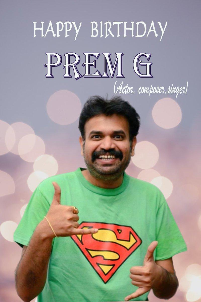 #HBDPremji #HappybirthdayPremgi   Wishing #Premji A Very Happy Birthday! May You Continue To Entertain Us With Your Work🤩🔥  @Premgiamaren  @V4umedia_