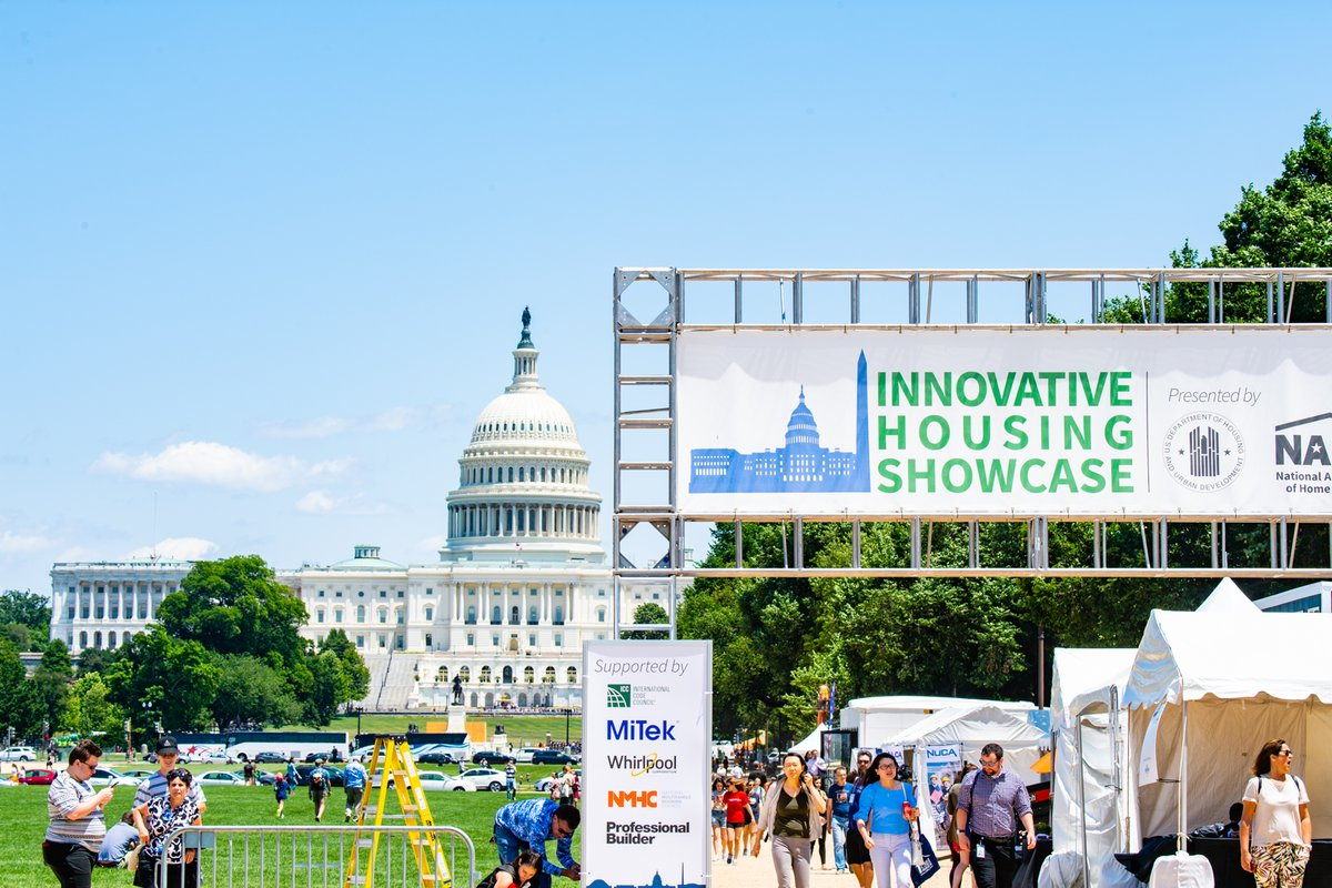 Have you heard? We're headed back to the National Mall, September 12-14 for #IHS2020. Interested in becoming an exhibitor? Visit  for more information. We hope to see you there! #innovativehousing