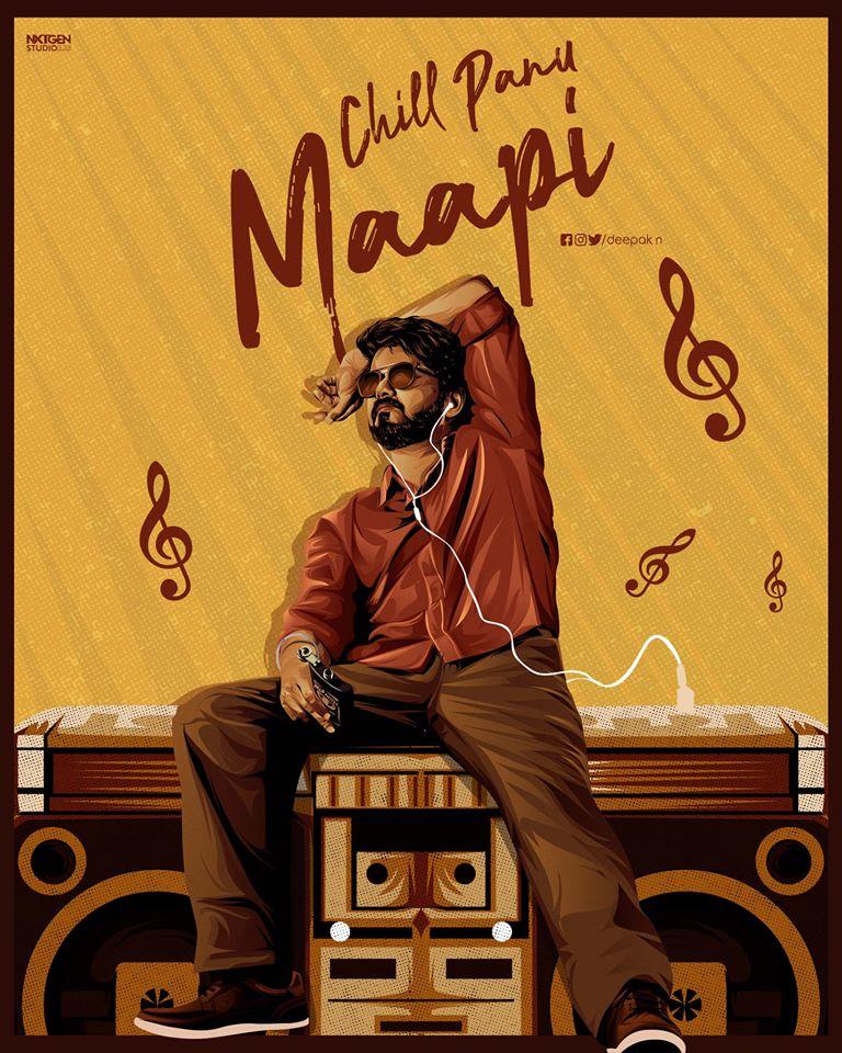 Konjam Chill Panu Maapi !! #Master #KuttiStory   #Thalapathy @Dir_Lokesh @anirudhofficial