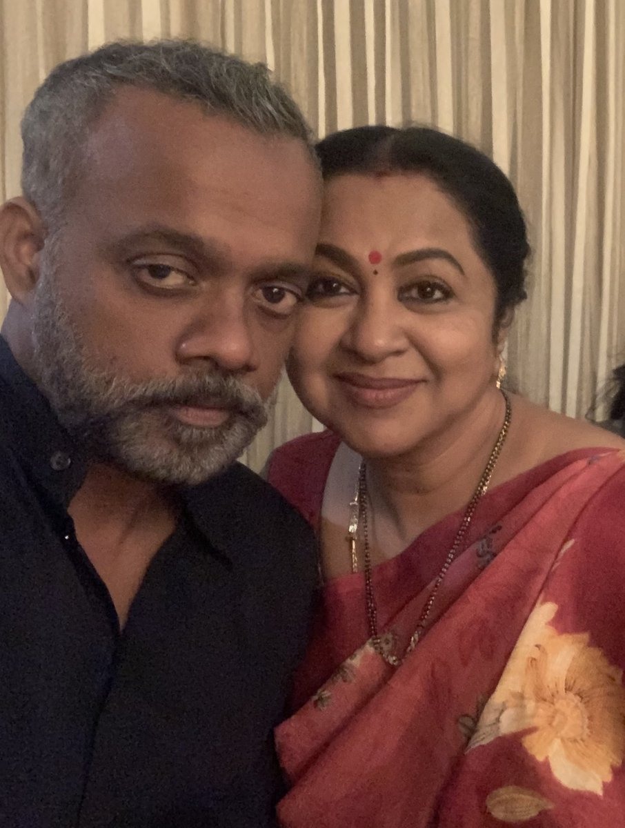 Happy birthday dear @menongautham the person who stands out as a creator and in thoughts.