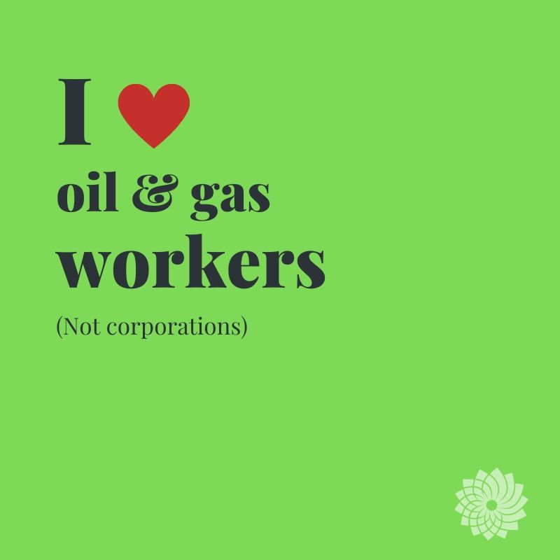 We need to transition oil & gas workers for the new, green economy.  Fossil fuels are a dying industry. Canada needs to protect its energy workers from mass layoffs and prepare them for the new world of work. https://t.co/GbU4P2whqt