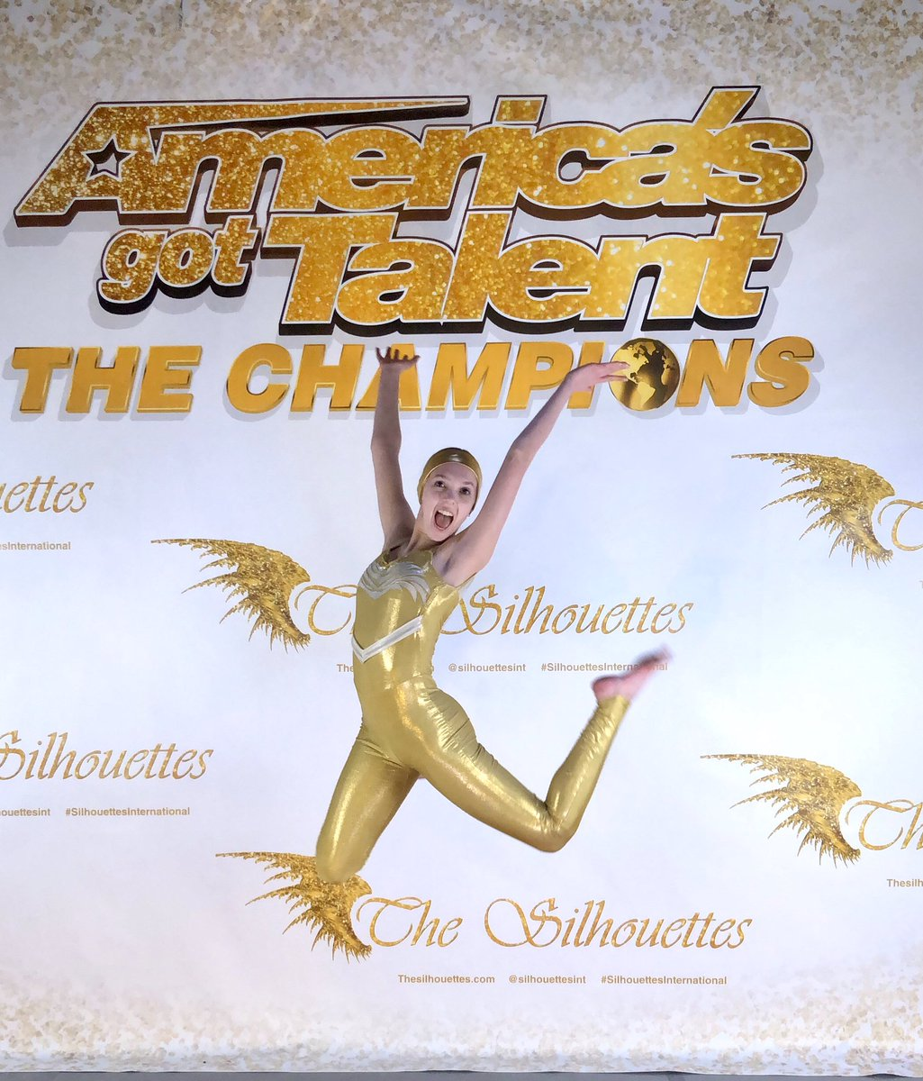 Still so excited about our AGT Champions adventure!! Featured dancer: Emilee!! Photo by Anna #silhouettesinternational #silhouettesint #thesilhouettes #westminstercc #goldenbuzzer #championsoftheheart #livinginthelight @WestyChamber