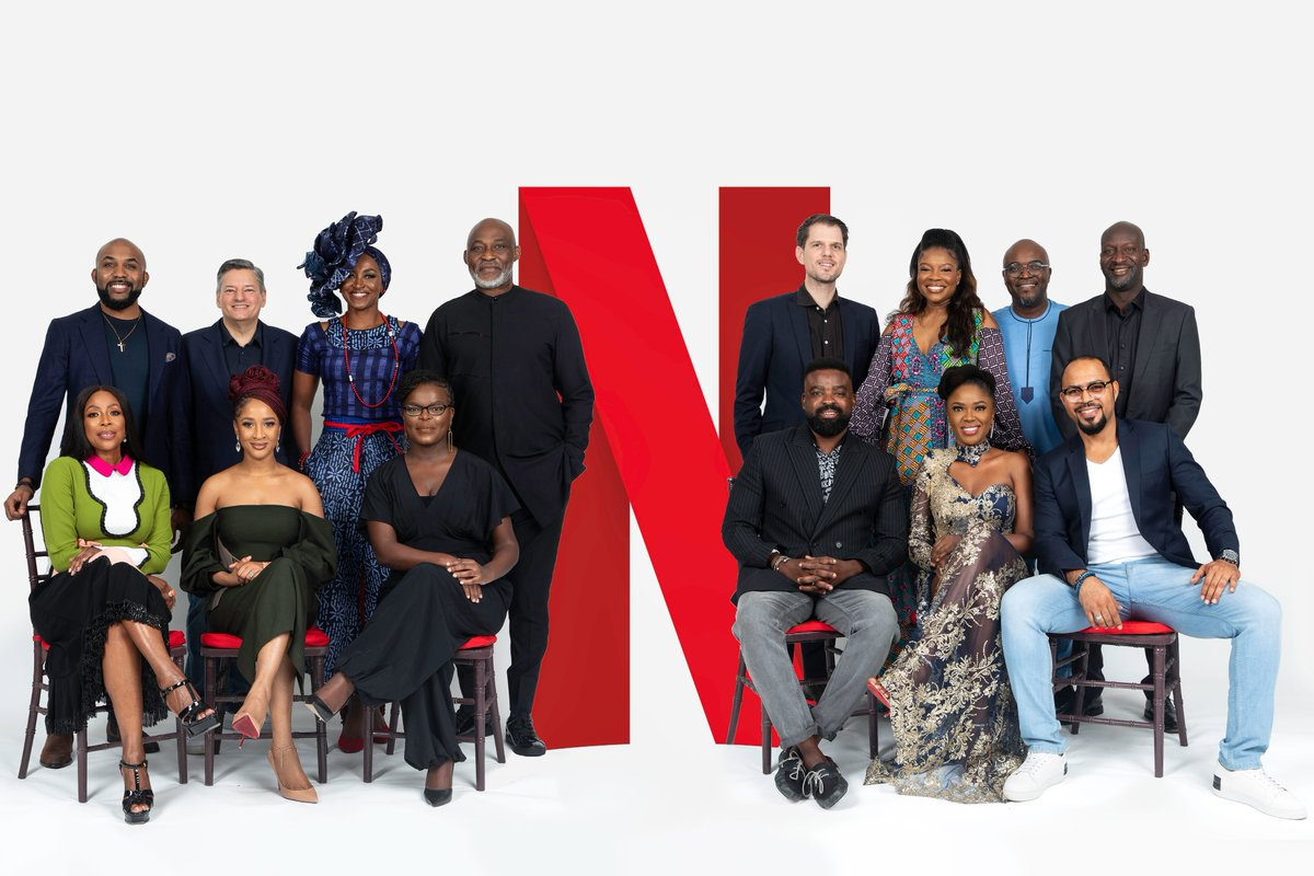 N is for Naija. N is for Nollywood. N is the 14th alphabet. 14 is also how many great talents you're looking at. N is for Netflix. But most importantly...hello, Nigeria!