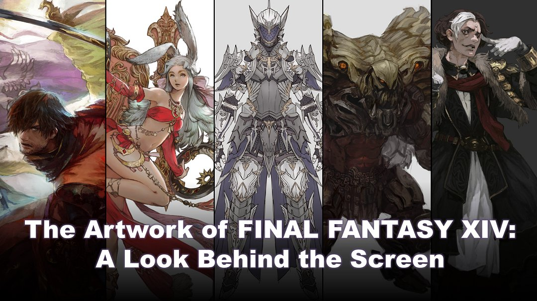Join us for the Artwork of #FFXIV livestream on Saturday, February 29!   Naoki Yoshida and Yusuke Mogi will go behind the scenes to show viewers the craft behind a variety of FFXIV artwork including monsters, NPCs, equipment and more! 🎨🖌️