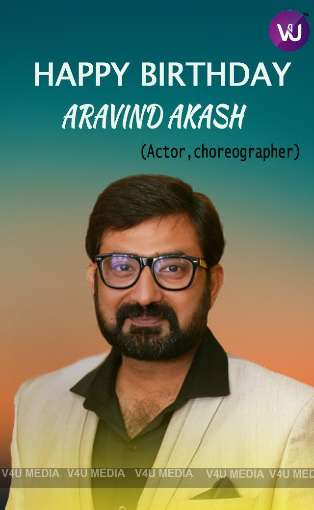 Birthday Wishes To Actor #AravindAkash 😊🎂🍰  Wish You all Success & Have a Great Year Ahead😍💐  #HBDAravindAkash   Warm Regards, Team @V4umedia_ & @RIAZtheboss   @aravindaakash