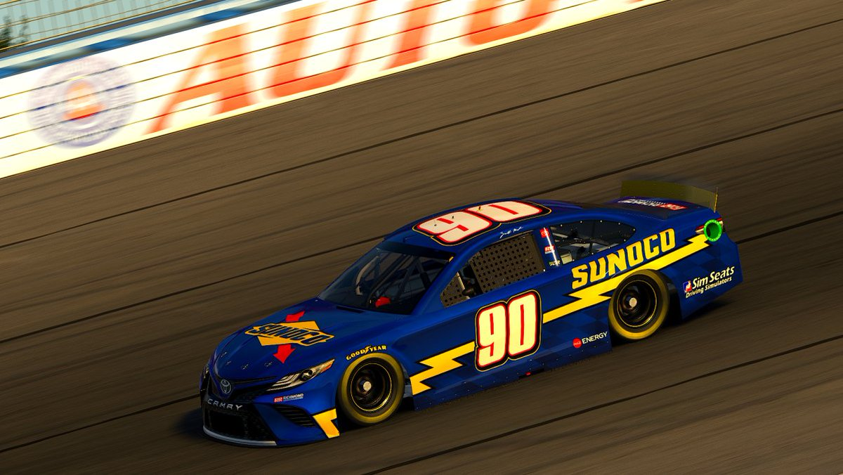 P40 tonight, dead last. That's a first time I've ever done that in this series. Really disappointed, I put over 400 laps into this car in the last 24 hours and it just didn't show. Definitely gonna have to improve at @HomesteadMiami in 3 weeks.  #RReSports x @SunocoRacing