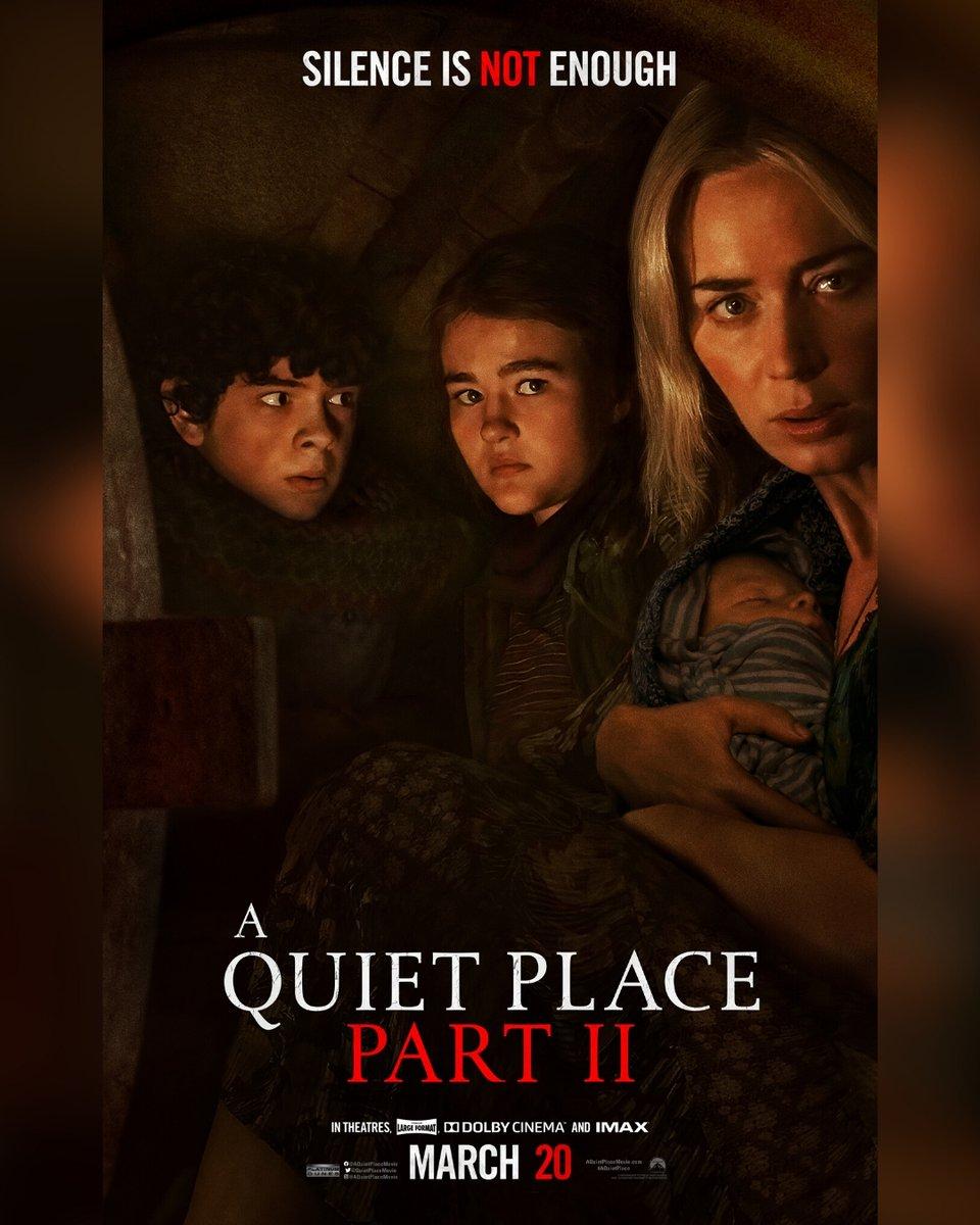 test Twitter Media - Check out the official poster for #AQuietPlace Part II. See it in D-BOX March 20.   //  Découvrez l'affiche officielle de #AQuietPlace Partie II. Voyez-le en D-BOX le 20 mars. https://t.co/s53gRZNYhc