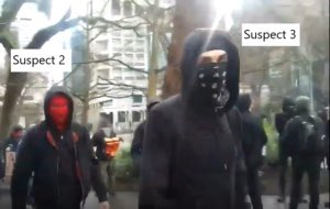 Breaking: One of the violent antifa suspects from the Feb. 8 Portland incident has been identified as a 15-year-old. The juvenile was interviewed by police & they are not releasing the name. Police are still asking for help identifying these suspects: