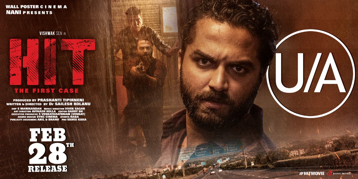 Promising crime investigative thriller ahead, #HIT  Book your tickets now -   #HITonFeb28th #HitMovie