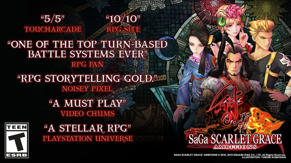The #RomancingSaGa games and #SaGaScarlet GRACE AMBITIONS are in the #PlayStation Big in Japan sale!  Save up to 40% on RPG titles that are all about freedom and choice before the sale ends 6th March!