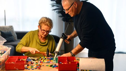 Meet the German grandma who builds wheelchair ramps from Lego  #Innovation