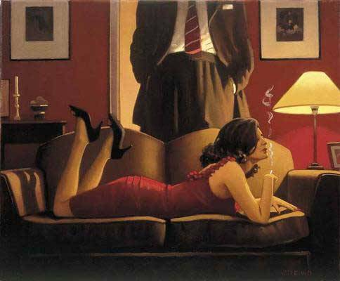 Jack Vettriano      The Parlour of Temptation https://t.co/9tcO8Aug7Z