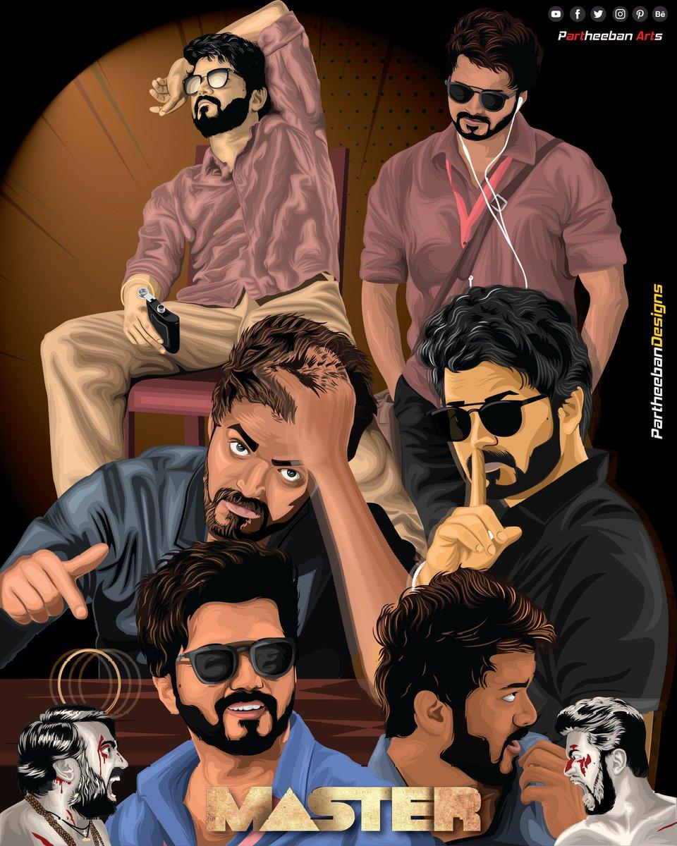 #Allinone my illustration #Master #ThalapathyVijay #Thalapathy #Thalapathy65 @actorvijay @Dir_Lokesh @Lalit_SevenScr @gopiprasannaa @Jagadishbliss @XBFilmCreators