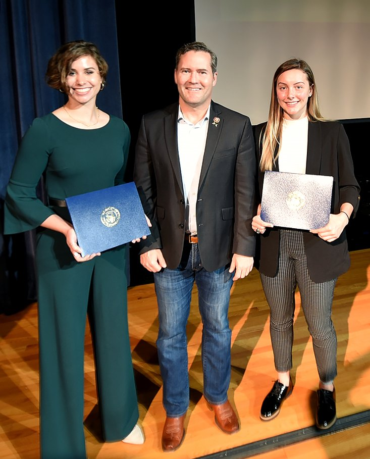 Two bright young women in #FL6 are headed to serve at our country's service academies!   Big congrats to Kaci Helmick & Bowen Conlan for accepting nominations to @WestPoint_USMA & @AF_Academy this weekend.  We're all very proud & can't wait to see where your futures lead you. 🇺🇸